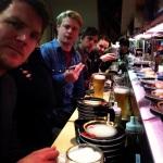 Running Sushi - Lars, Stoffer, Søren & Tim